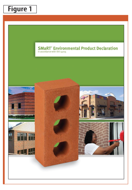 This brick manufacturer's environmental product declaration (EPD), released in November 2012, confirmed its bricks emit 84 per cent less carbon dioxide (CO2) and use 81 per cent less energy during manufacture than conventional clay bricks.