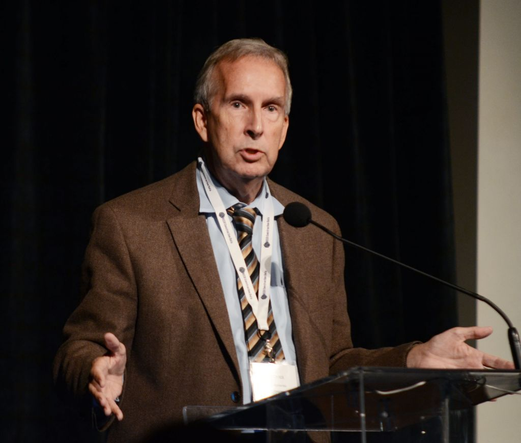 """Alex Carrick, CanaData's chief economist, presented """"CanaData's Overview Forecasts of Construction"""" at the 28th annual Construction Industry Forecasts Conference on September 26."""