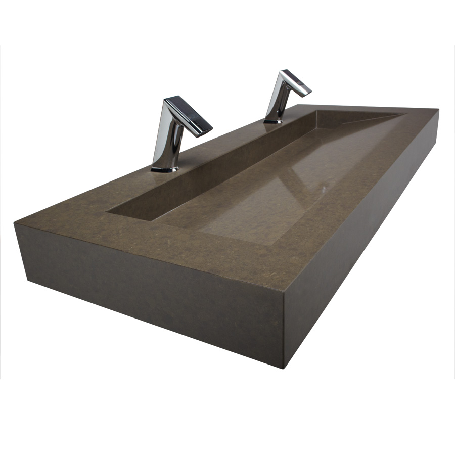 Solid Surface Sinks Are Solid Choices For Commercial