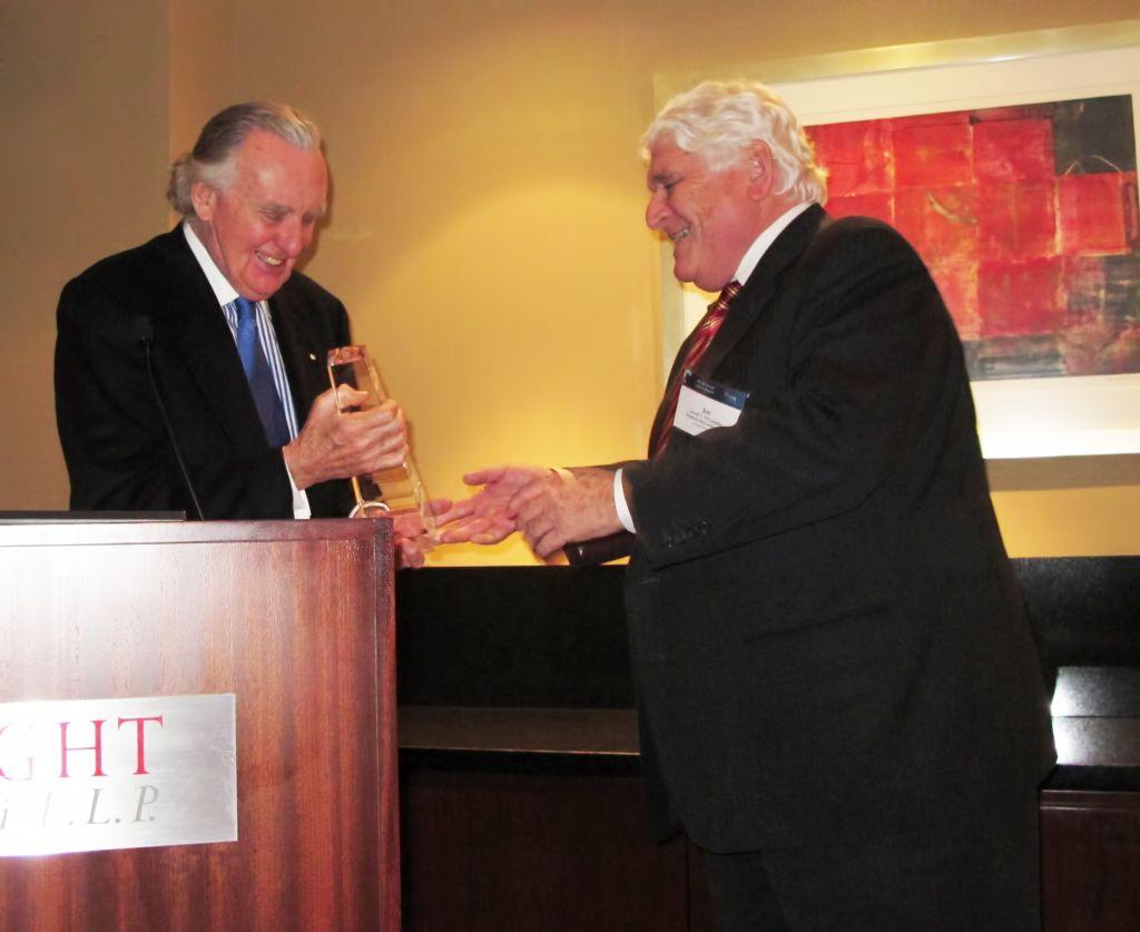 David Bristow Award Presentation