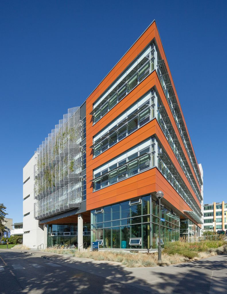 Vancouver campus building boasts green technologies for Interactive house builder