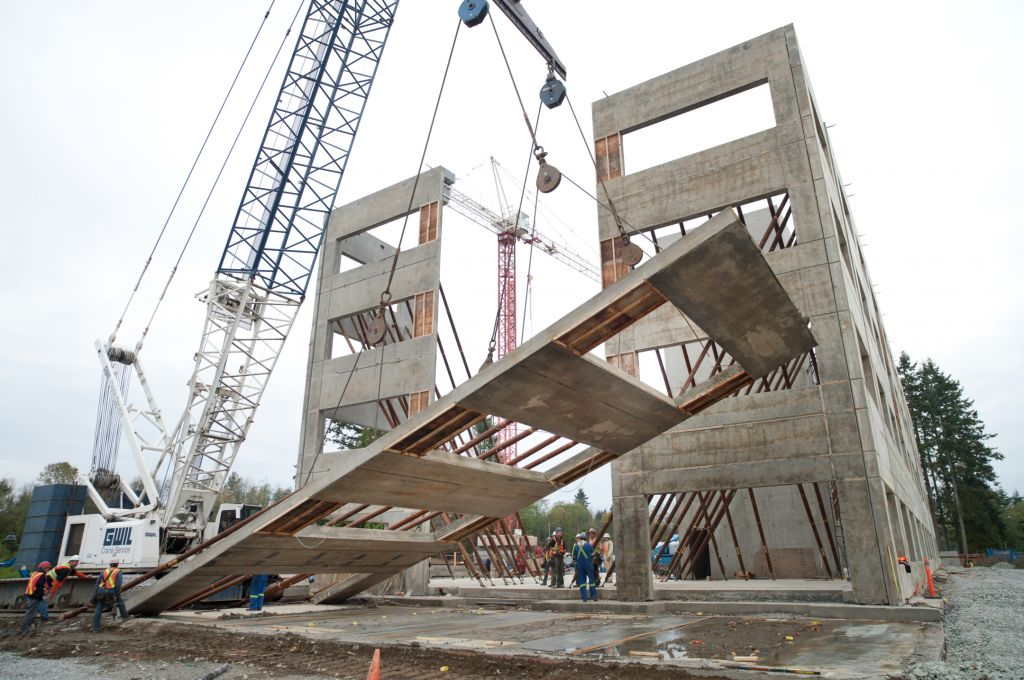 Tilt Up Concrete Slabs : Award winning canadian tilt up construction canada