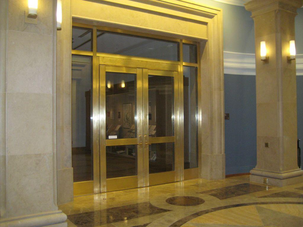 Securtiy Door With Glass