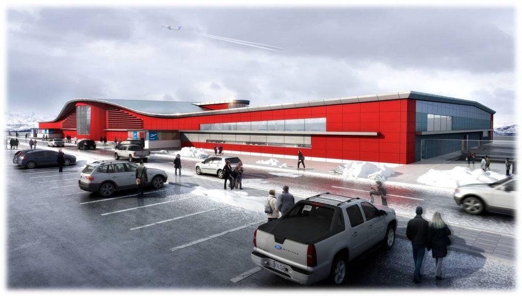 New Iqaluit Airport rendering