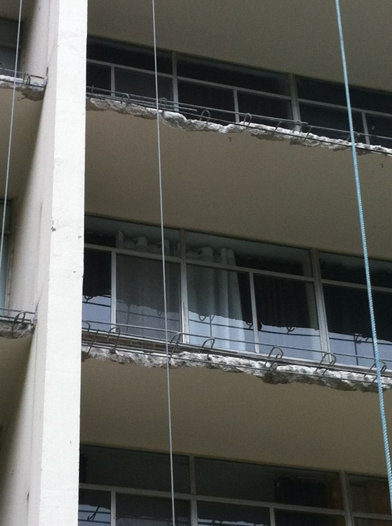 Removing balcony slab edges in order to repair corroded reinforcing is one of the most disruptive construction projects for a residential occupancy. This is an easily prevented problem with minor attention to detail during the design and construction process.