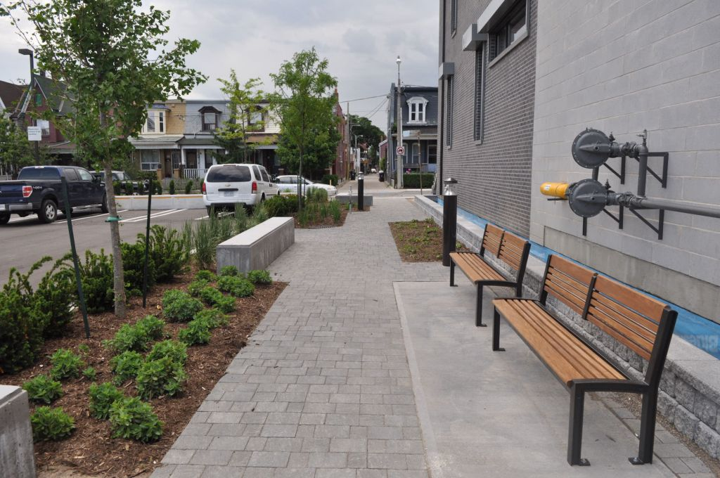 The 201 Claremont Street project in Toronto was recognized in the Best Design/Implementation of a Surface Parking Lot category.