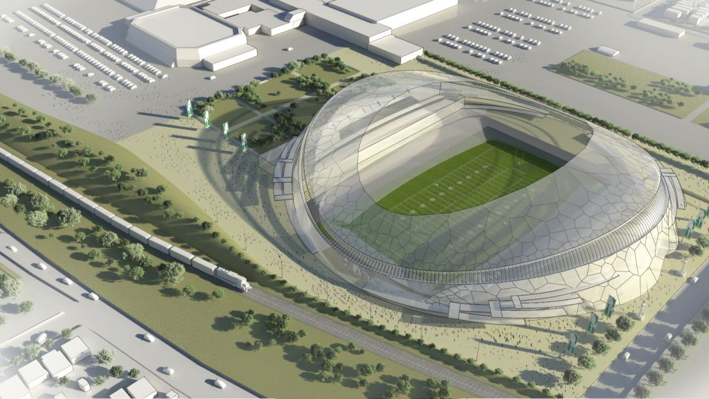 Smooth New Stadium Coming For The Roughriders