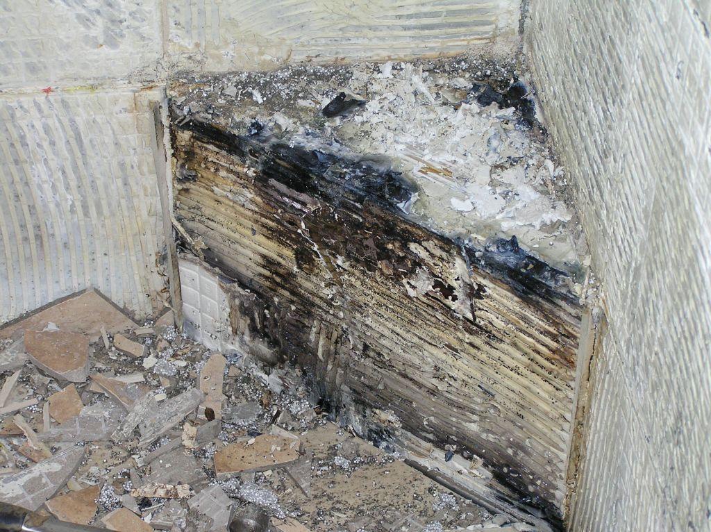 Schluter Shower Base On Concrete