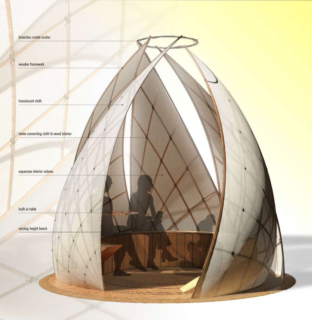 Temporary Construction Structures : Temporary structure design competition hits toronto