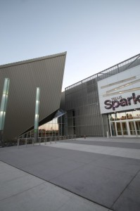 TELUS Spark- Exterior of the building