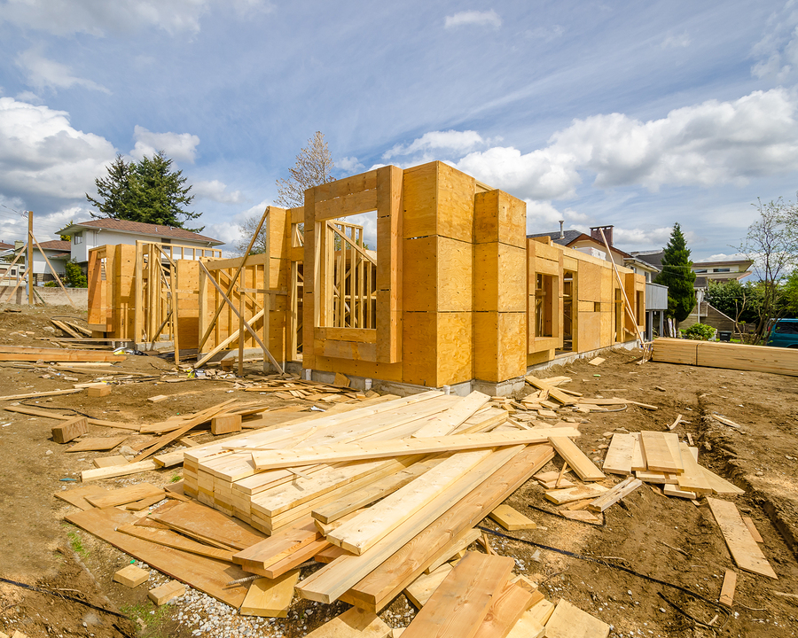 Canadian housing starts will level out over this year and next. Photo © BigStockPhoto/karamysh