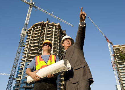 bigstock-Contractor-And-Foreman-3148984