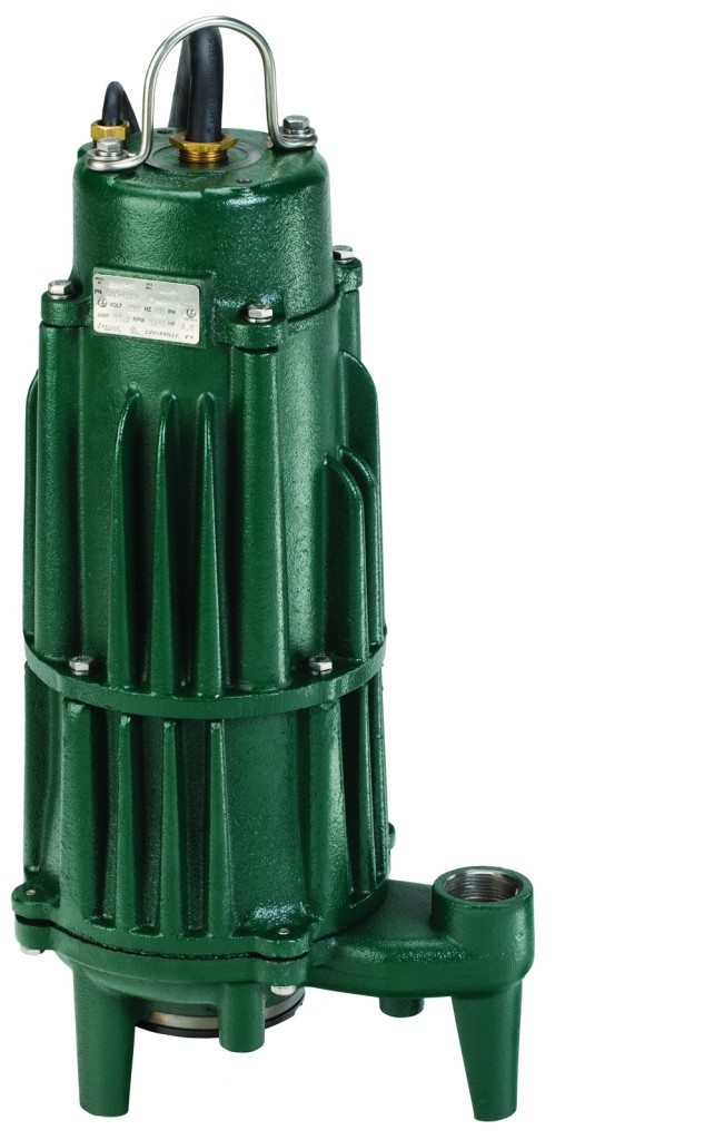 Zoeller products, like the grinder pump shown here, are now available in Allied Technical Services (ATS) plumbing specification information system. Photo courtesy Zoeller Engineered Products