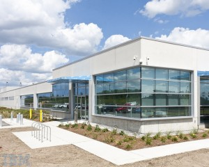 Barrie, Ont.'s IBM Canadian Leadership Data Centre has been certified Gold under the Leadership in Energy and Environmental Design (LEED) program. The facility's energy consumption was reduced by employing underfloor systems that cool data servers. Photo courtesy IBM