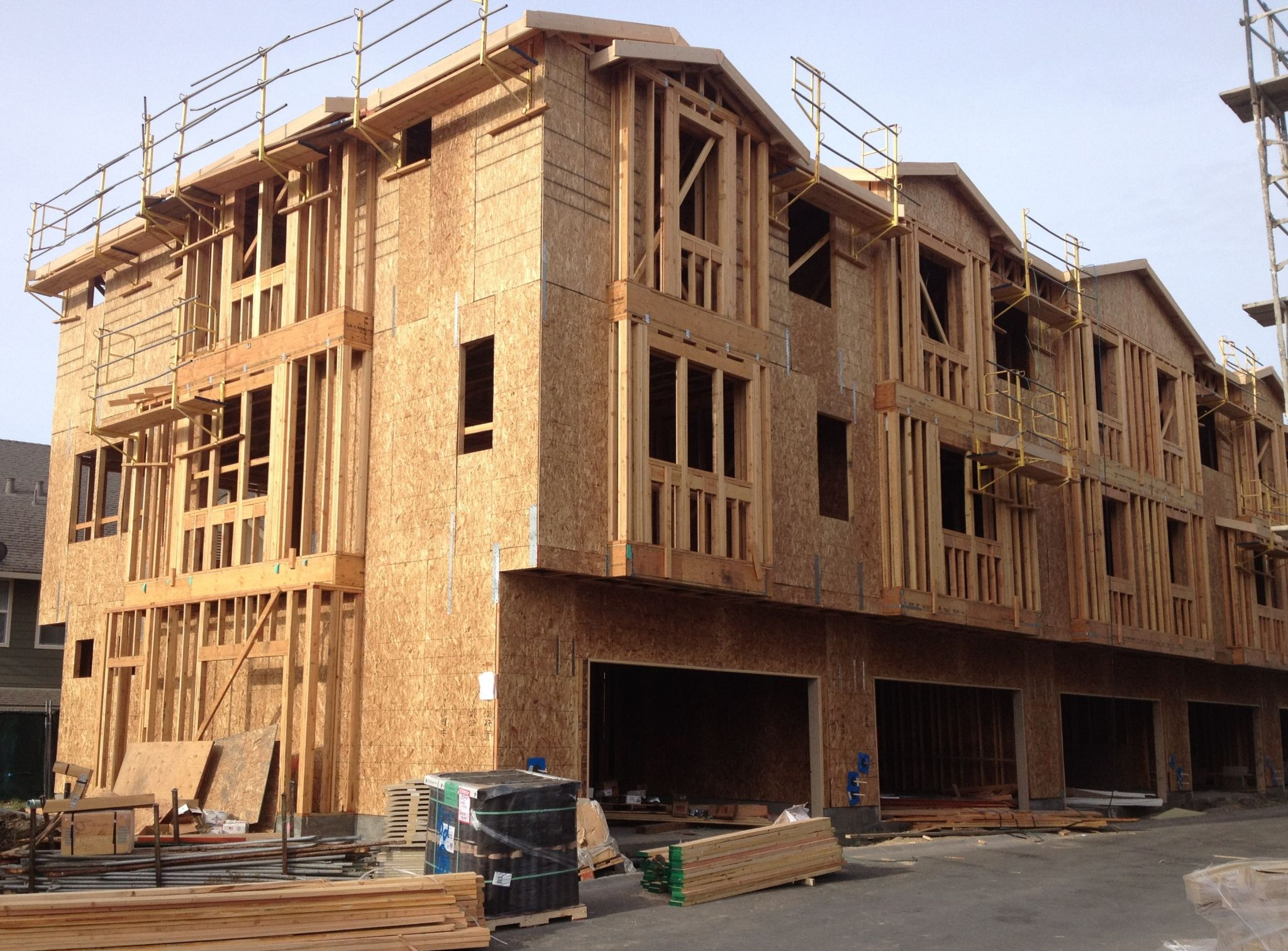 Fastening in wood frame construction construction canada for What is a frame home