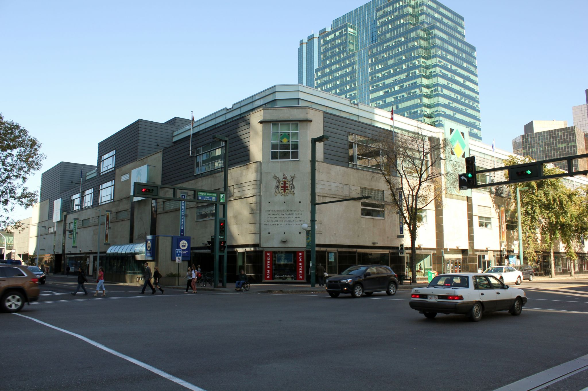 The renovated Hudson's Bay Building now serves as a campus facility at UAlberta. Photo © Arctic.gnome. Photo licensed under Creative Commons Attribution-Share Alike 3.0 Unported