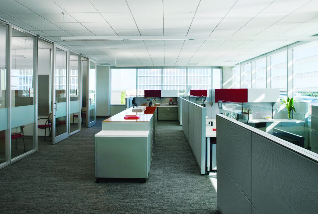 All photos courtesy Armstrong Commercial Ceiling Systems