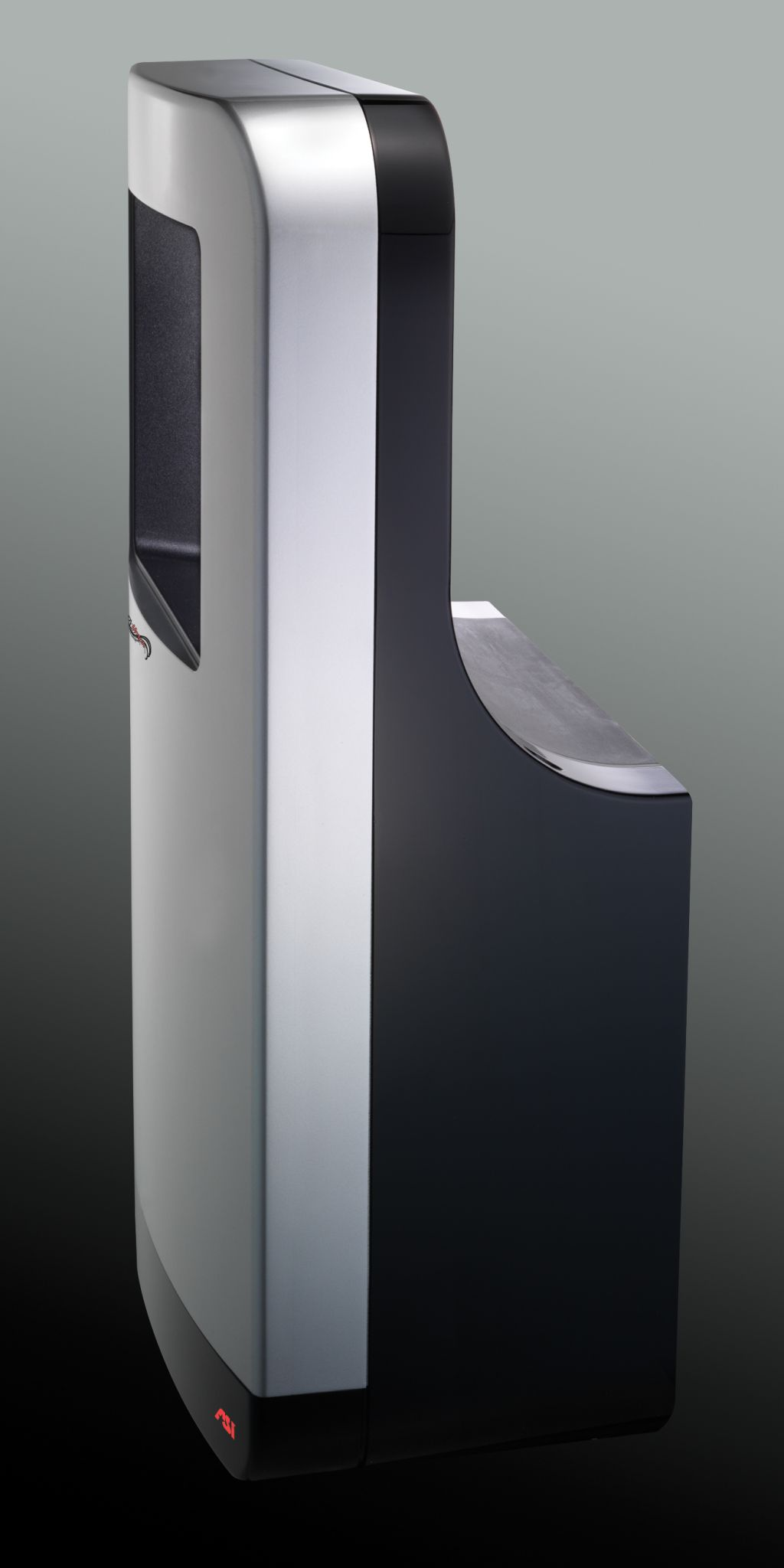 Standard hand dryers for barrier-free applications are 100 mm (4 in.) deep, and can be installed anywhere in a washroom, change room, or locker room. Highspeed models require a recess kit, or are available as recessed or semi-recessed units to satisfy accessibility conditions. Designers should learn which products possess high-effi ciency particulate air (HEPA) fi lters, anti-microbial fi lters, adjustable heaters, and adjustable sound pressure or level reduction.