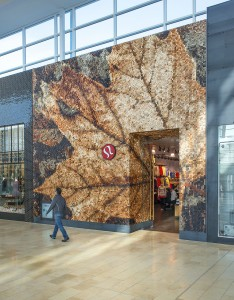 Last year, Lululemon Athletica's Yorkdale Mall (Toronto) location was awarded the Interior Wood Design prize at the Ontario Wood WORKS! event. Photo courtesy CNW Group/Ontario Wood WORKS