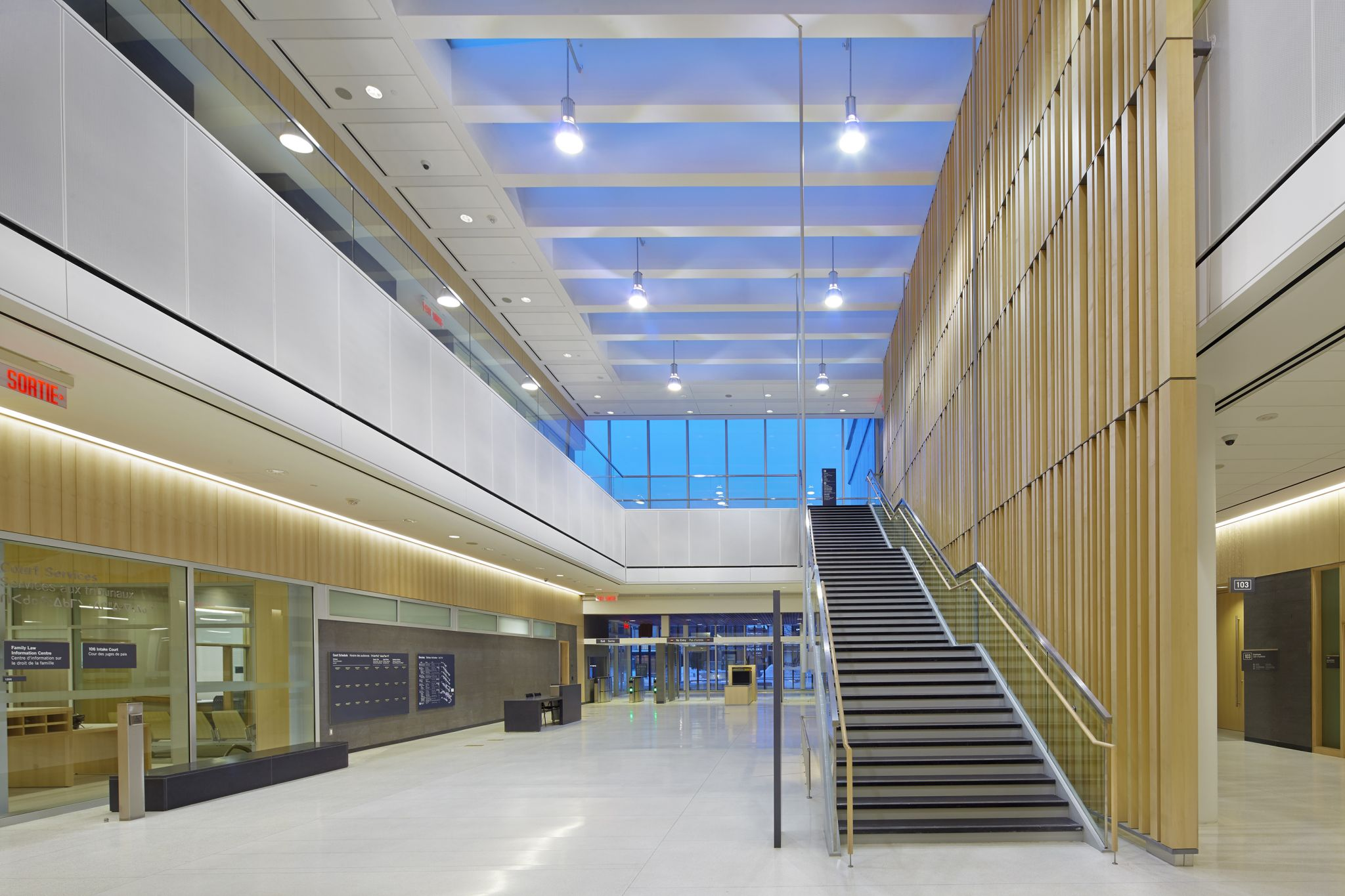 Interior: Opening The Doors On A New Courthouse In Thunder Bay