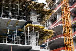 Building permits for multi-family projects were up more than 35 percent in July. Photo © BigStockPhoto/ MrTwister
