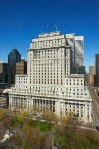 Montréal's historic Sun Life Building has been awarded Leadership in Energy and Environmental Design (LEED) Silver certification after undergoing renovations. Photo courtesy CNW Group/Bentall Kennedy
