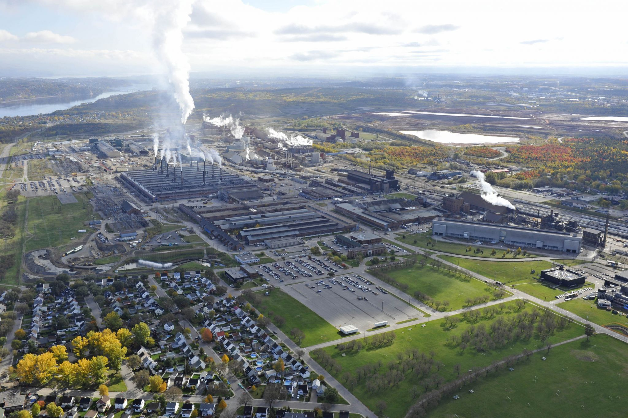 The AP60 Phase 1 project, involving new aluminum-smelting technology in an upgraded facility in Jonquière, Que., was named Project of the Year by the Project Management Institute (PMI). Photos courtesy PMI