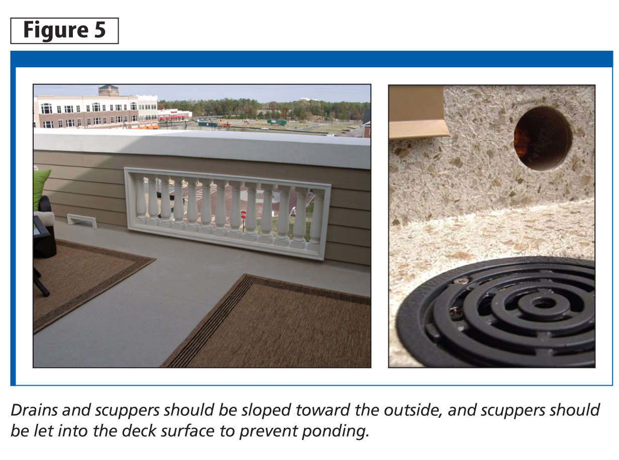 The Six Ds Of Decking Waterproofing Flat Roof Assemblies