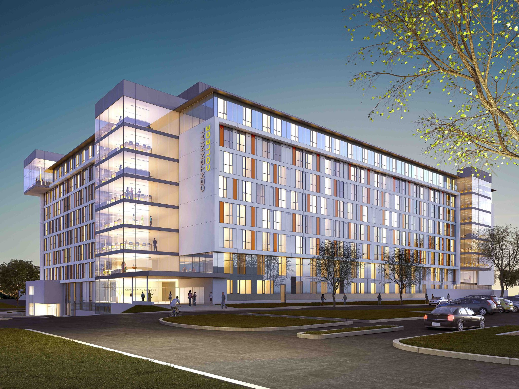 Toronto S Centennial College Breaks Ground On New Facility