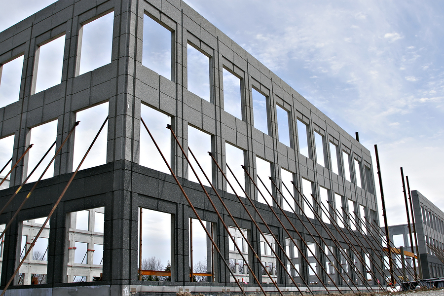 Commercial, institutional, and industrial construction investment was up across the country during the third quarter of 2014. Photo © BigStockPhoto/flashon