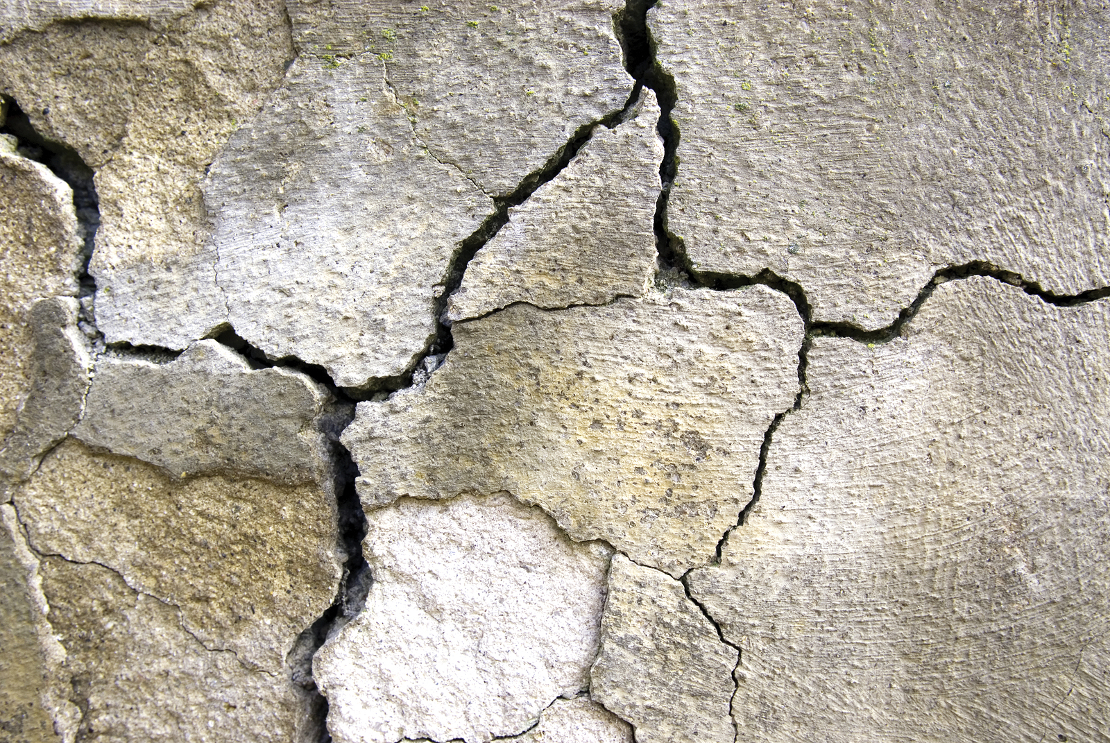 As cracks in the concrete form, water is able to fl ow freely and weaken the concrete structure. Photo © BigStockPhoto/Vladislav Mitic