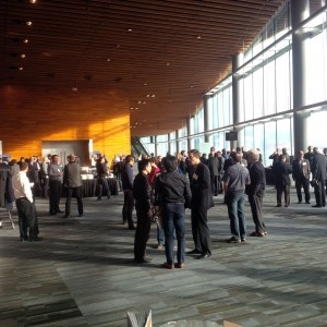 The 2014 International Wood Symposium offered attendees information about new technologies in wood buildings. Next year's event will take place in Vancouver and registration is now open. Photo courtesy Wood WORKS