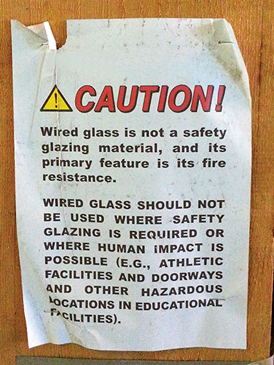 Rethinking wired glass - Construction Canada