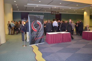 The awards event was held at the Metro Toronto Convention Centre on December 3 following the Construction Canada show. Photo courtesy RMCAO