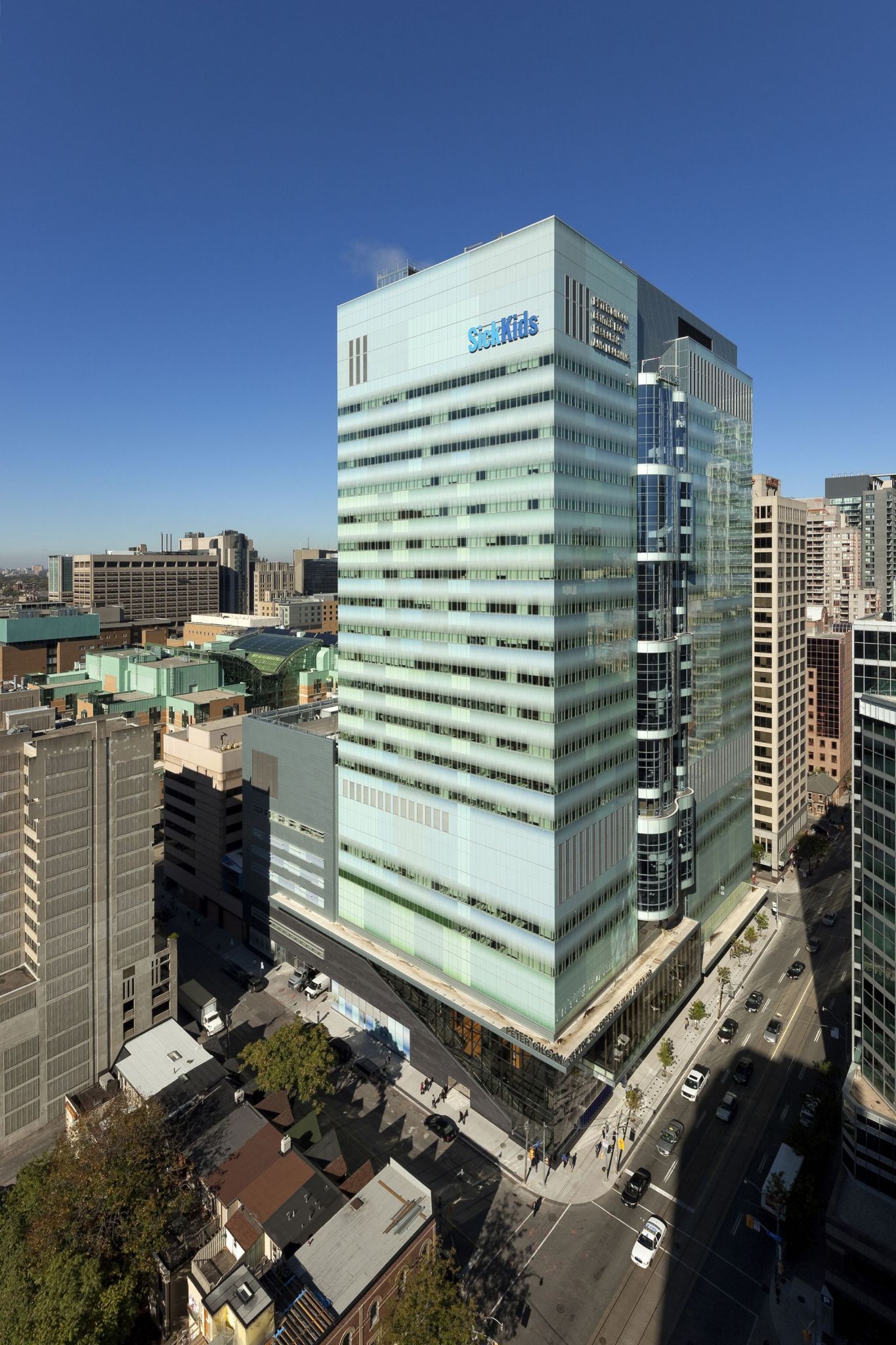 Health Insurance For Children >> Toronto's Hospital for Sick Children boasts new research centre - Construction Canada