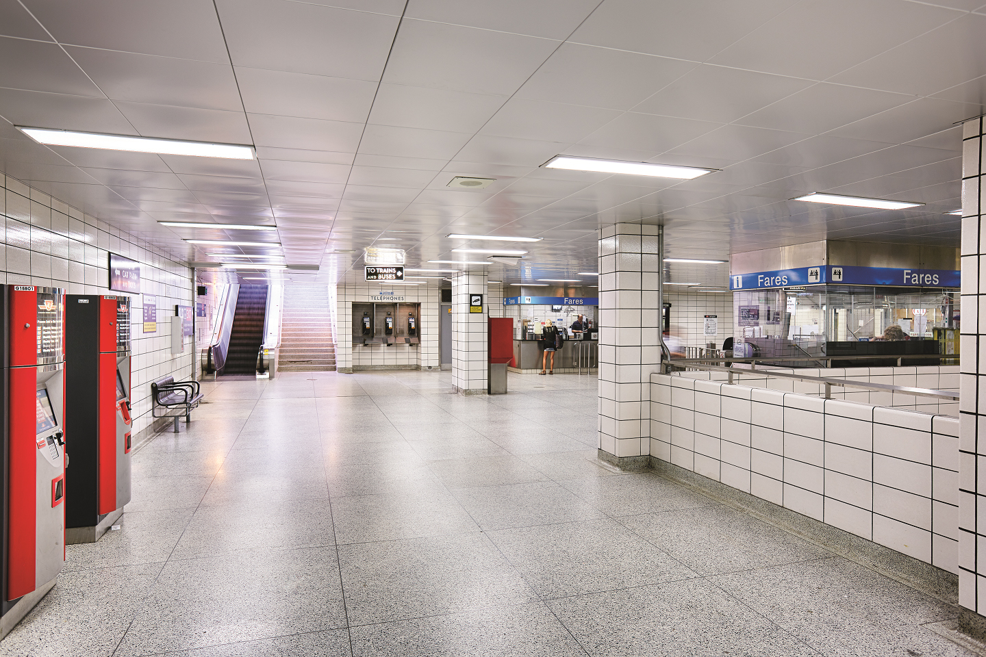 Specialty Metal Ceiling System Improves Toronto Subway