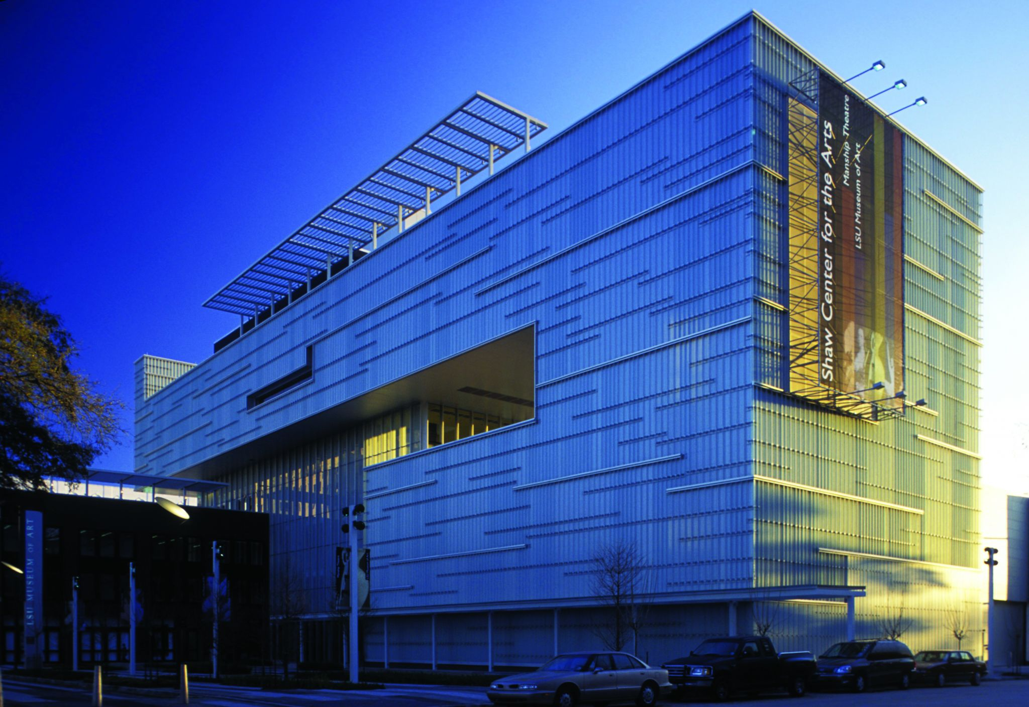 Shaw Center Bendheim Channel Glass Wall Systems 1
