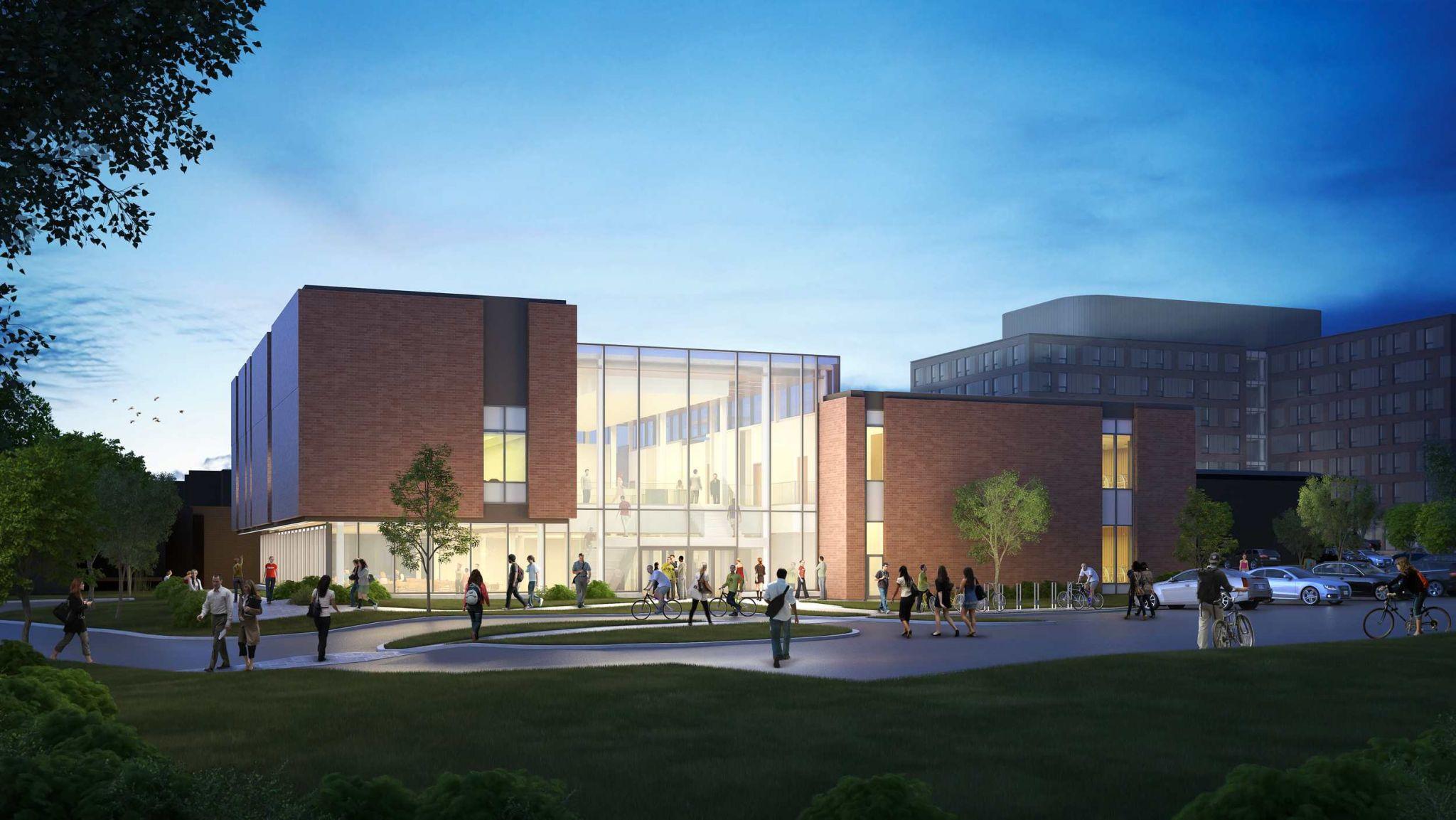St Jerome University Residence Renewal Construction Canada