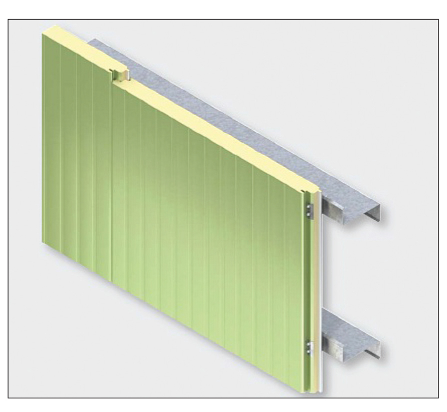 Single-component insulated metal panel systems. Images courtesy Kingspan Insulated Panels