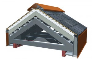 This engineered system provides ventilation for steep-sloped roofs, helping ensure consistent intake and exhaust airflow underneath the roof covering of commercial building applications. Proper venting throughout a steeped-slope roofing system is essential for durability and for controlling temperatures above the air space. Images courtesy Atlas Roofing
