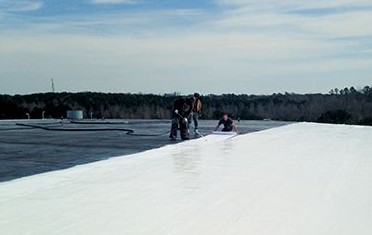 White-Knight Plus fully reinforced over EPDM