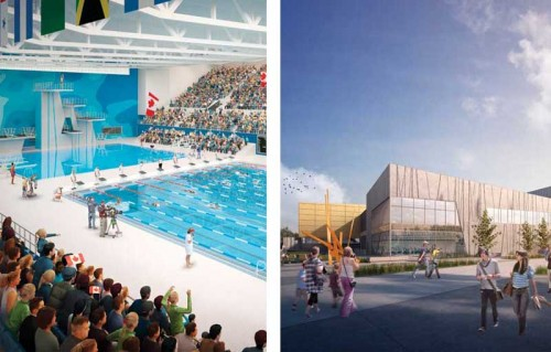 The Pan American Aquatics Centre (PAAC), Field House, and Canadian Sport Institute Ontario (CSIO) project is one of many being constructed in the Toronto area for the 2015 Pan American and Parapan American Games. Images courtesy Infrastructure Ontario and NORR Ltd./Counsilman-Hunsaker