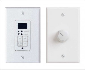 Sound-masking systems offer in-room occupant control using rotary volume knobs or programmable keypads, allowing users to adjust the masking as needed. Photos © Zahid Ghafoor