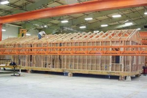 Precision-built structures, produced in a clean-tech offsite production facility, exceed the performance of site-built at no additional cost while minimizing resources, waste, and carbon dioxide (CO2) emissions.