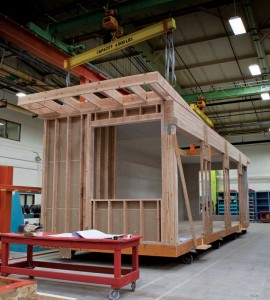 By fabricating offsite and employing proprietary innovations for the building envelope and mechanical systems, modular construction achieves higher quality while reducing waste and cost. Photos courtesy Zeta Communities