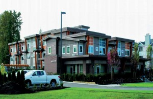 A three-storey supportive housing facility, Surrey social housing is the largest of five Olympic Legacy Affordable Housing projects to provide safe, supportive housing.