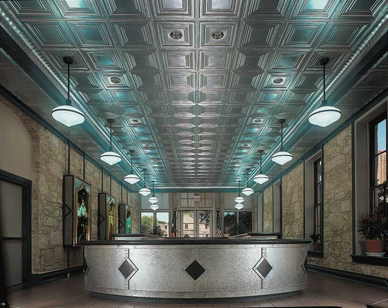 tiles system dct faux british in tin drop grid coffered a tile copper sterling ceiling antique