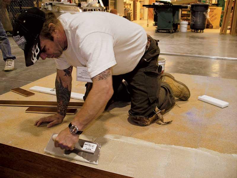 Wood Flooring Installation Methods Construction Canada