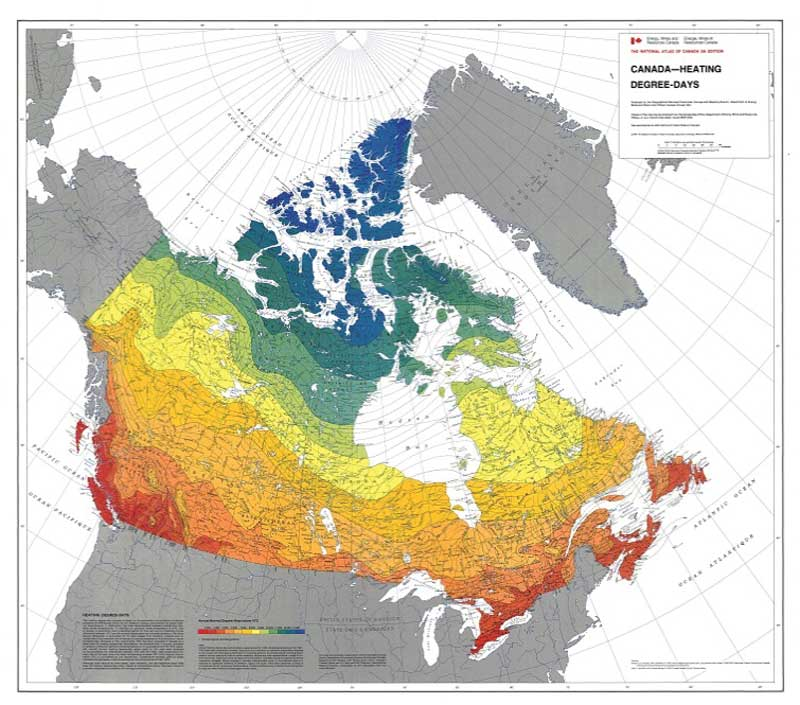 Envelope And Efficiency Meeting Code Requirements With Insulated - Ashrae climate zone map