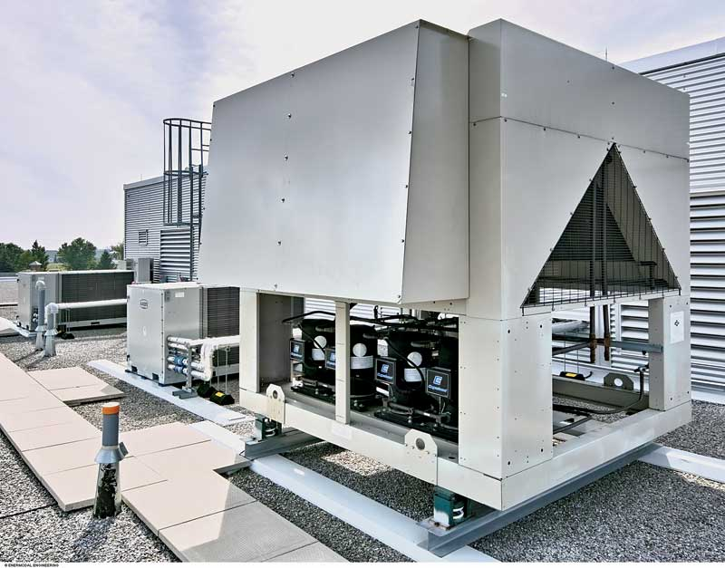Roof Air Handlers : Identifying green buildings that work construction canada